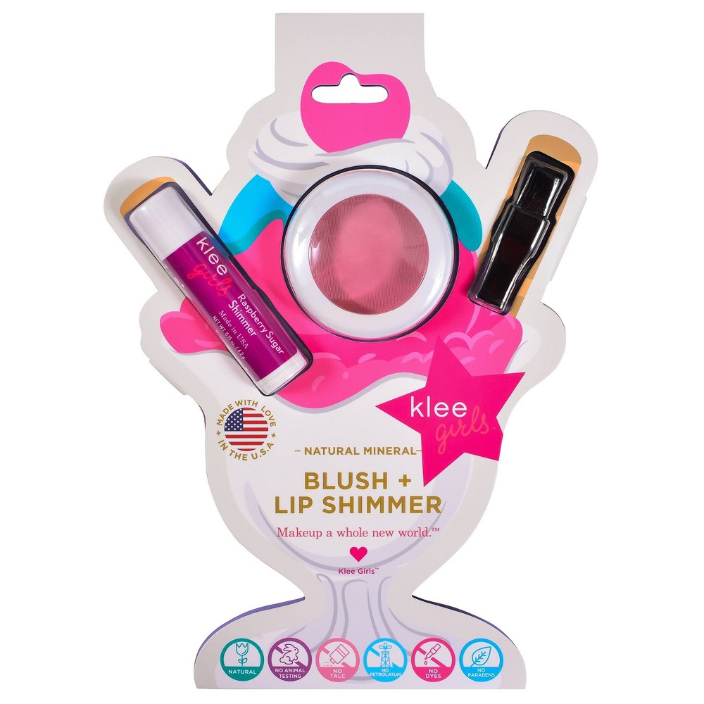 Image of Klee Naturals Blush & Lip Shimmer Makeup Kit