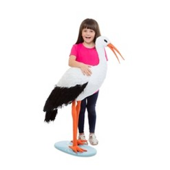 Melissa & Doug Stork, Stuffed Animals