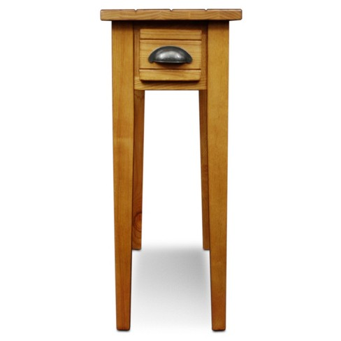 Bin Pull Small End Table Candleglow Leick Home Target