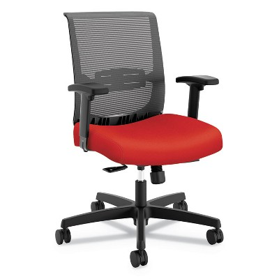 HON® Mid-Back Task Chair with Syncho-Tilt Control with Seat Slide  Supports up to 275 lbs.