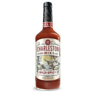 Charleston Bold & Spicy Bloody Mary Mix- 32 fl oz Bottle
