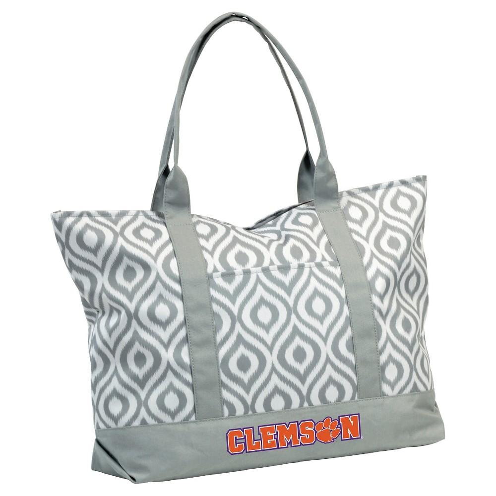 Clemson Tigers Ikat Tote Bag, Adult Unisex, Clemson Ikat Tote