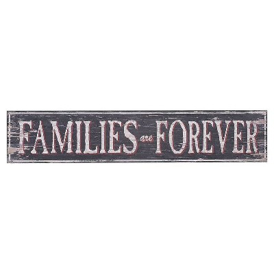 Families Are Forever Wall Décor- 3R Studios