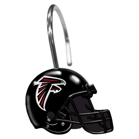 Northwest Atlanta Falcons Shower Curtain Rings Target