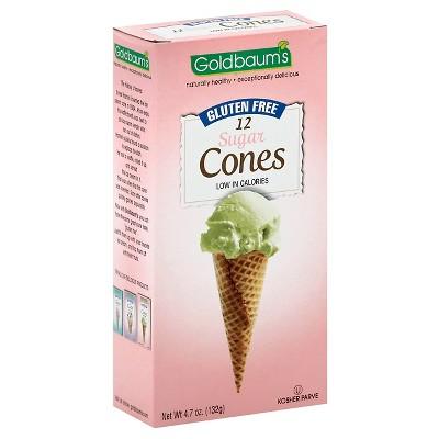 Goldbaum's Gluten Free Sugar Cones - 4.7oz