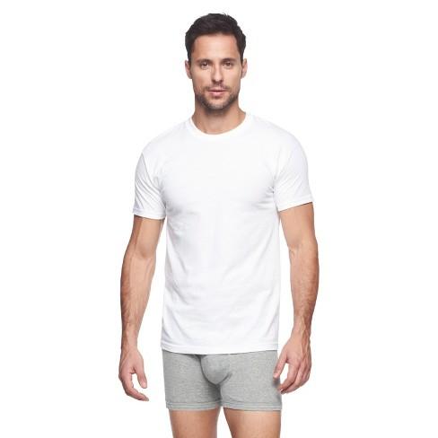0e901a6b220 Hanes® Premium Men's 6pk Crew Neck T-Shirt - White   Target