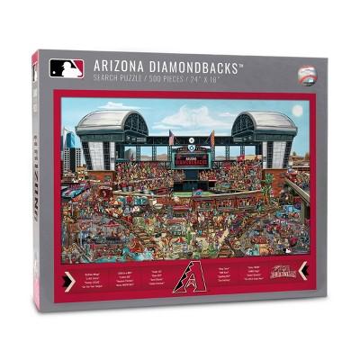 MLB Arizona Diamondbacks Find Joe Journeyman Puzzle 500pcs