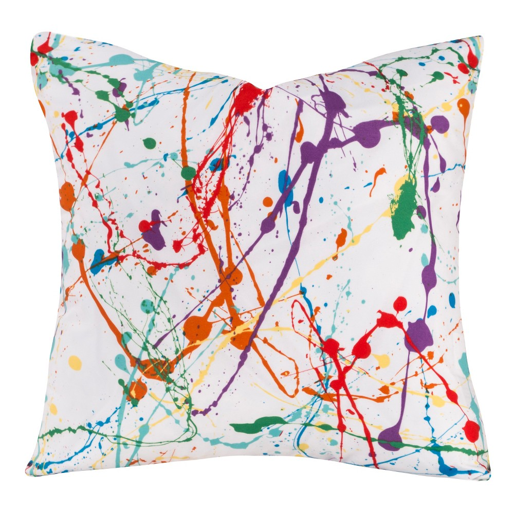 Crayola Splat Throw Pillow (17