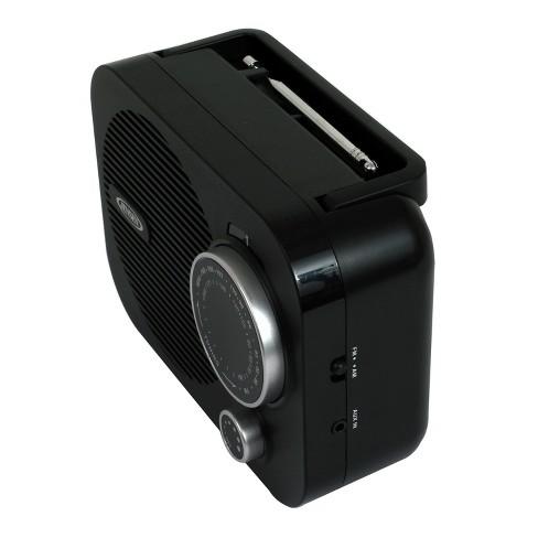 JENSEN AM FM Portable Radio MR 550 Target