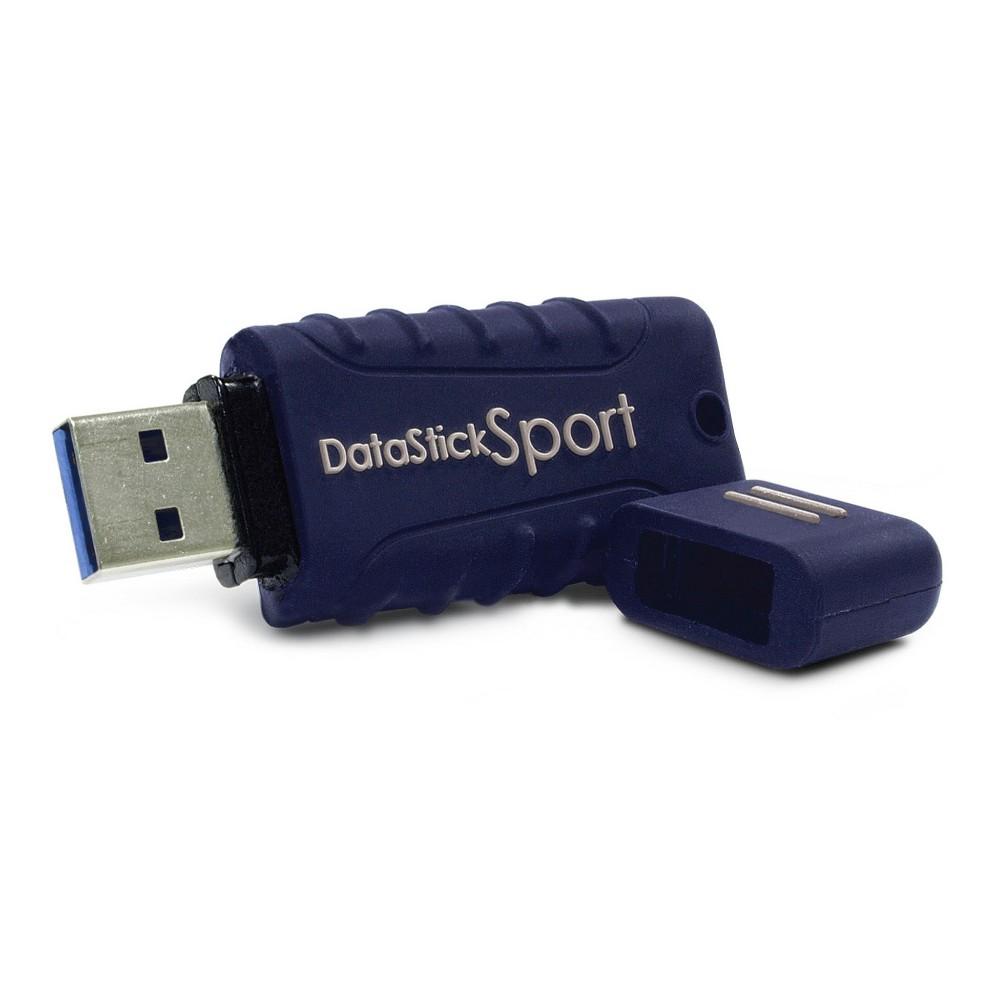 Centon MP Essentials Usb 3.0 Datastick Sport 128GB Blue (S1-U3W2-128G), Atlantic Blue