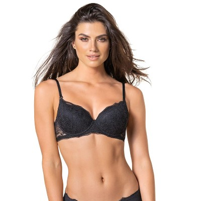 Leonisa padded lace underwire bra for women - Adjustable multiway straps -