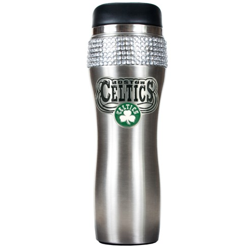 NBA 14oz Bling Silver Jeweled Travel Tumbler - image 1 of 1
