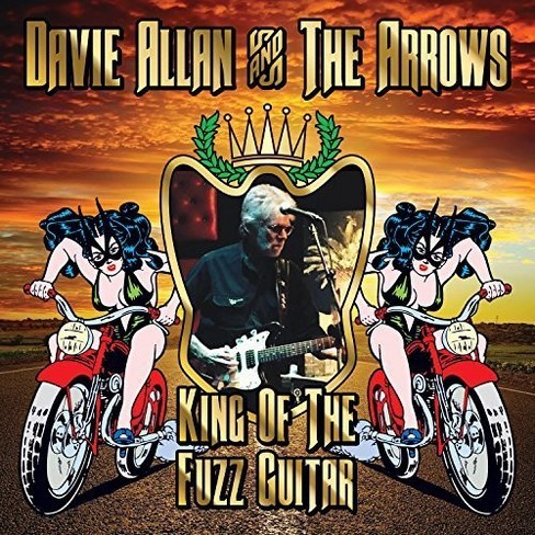 Davie & the a allan - King of the fuzz guitar (CD) - image 1 of 1