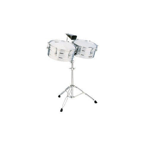 "LP M257 Matador Series 14"" and 15"" Steel Shell Timbales Set - image 1 of 1"