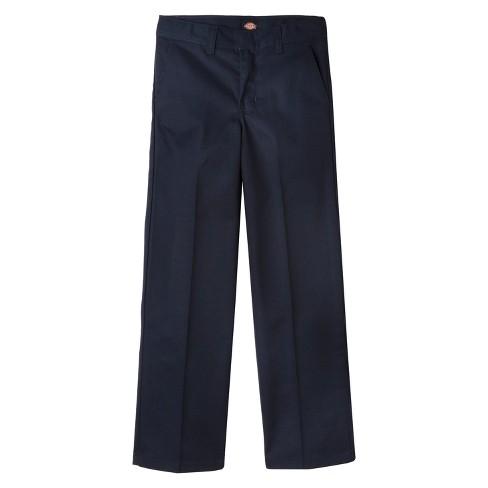 Dickies Boys' Flat Front Uniform Chino Pants - image 1 of 3