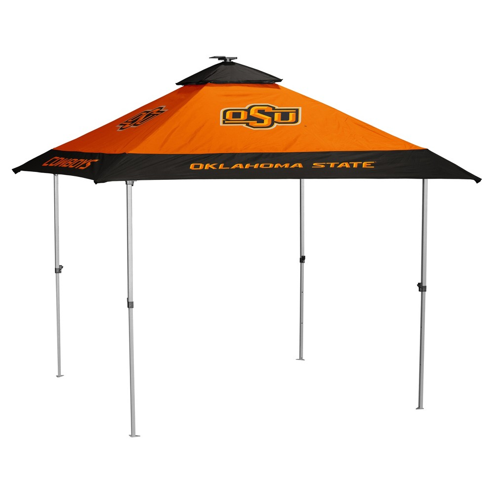 NCAA Oklahoma State Cowboys Logo Brands Pagoda 10x10 Canopy Tent
