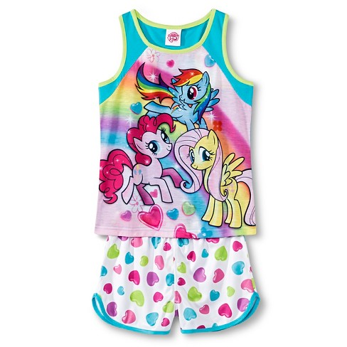 d7d10bc71899 Girls  My Little Pony Pajamas - Multi XS   Target