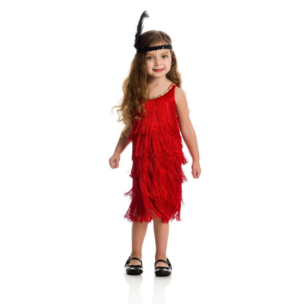Image of Halloween Girls' Fashion Flapper Halloween Costume L, Girl's, Size: Large, MultiColored