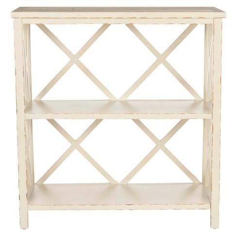 36 Decorative Bookshelf Ivory