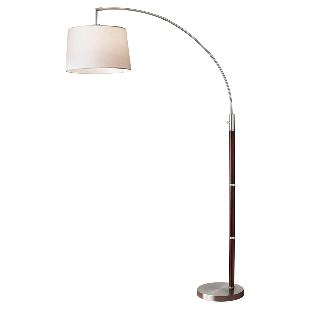 Image of Adesso Alta Arc Lamp - Brown (Lamp Only)