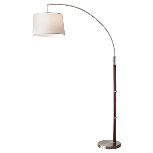 Adesso Alta Arc Lamp - Brown - image 1 of 1
