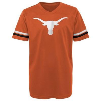 NCAA Texas Longhorns Boys' Short Sleeve Jersey