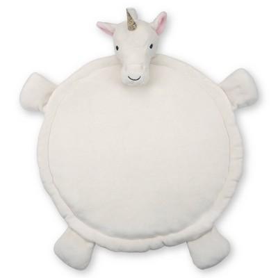 Lambs & Ivy Unicorn Play Mat - White