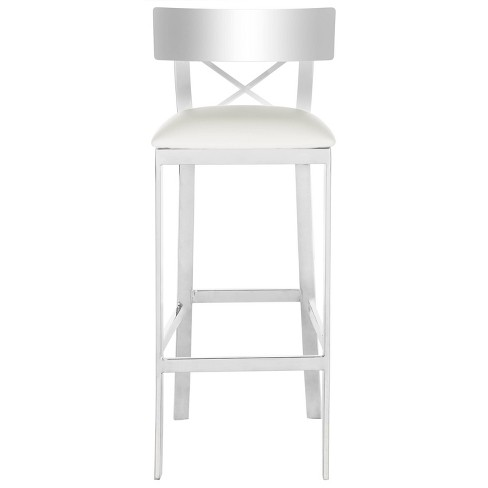 Tremendous Counter And Bar Stools White Safavieh Gmtry Best Dining Table And Chair Ideas Images Gmtryco