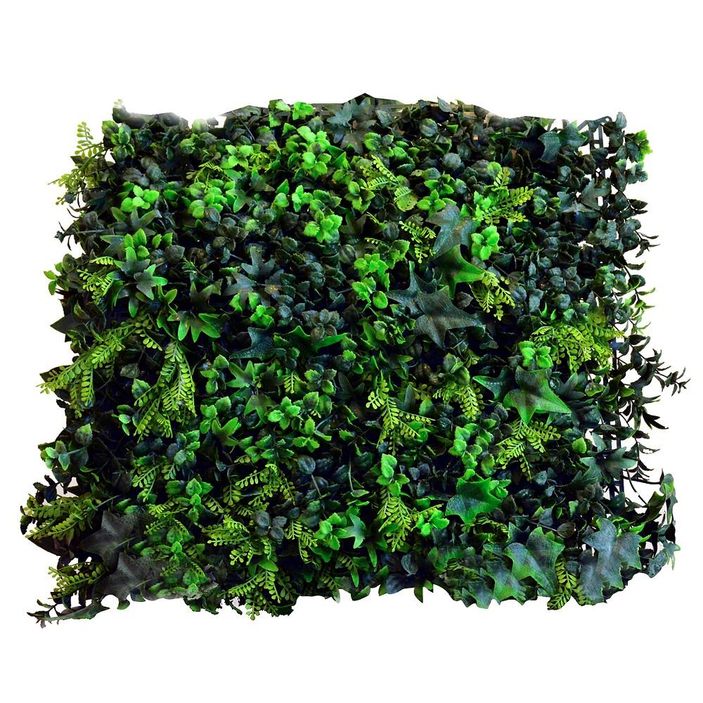 Image of Greensmart Decor Artificial Moss Panel Set of 4 - Green