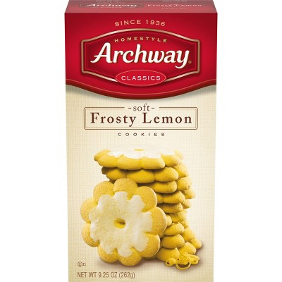Homestyle Archway Frosty Lemon Classic Soft Cookies - 9.25oz