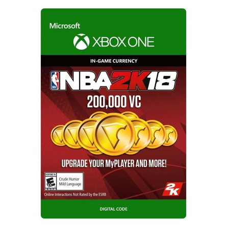 NBA 2K18: 200,000 Virtual Currency - Xbox One (Digital) - image 1 of 1