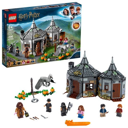 LEGO Harry Potter Hagrid's Hut: Buckbeak's Rescue Building Set with Hippogriff Figure 75947 image number null