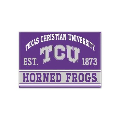 NCAA TCU Horned Frogs Fridge Magnet - image 1 of 1