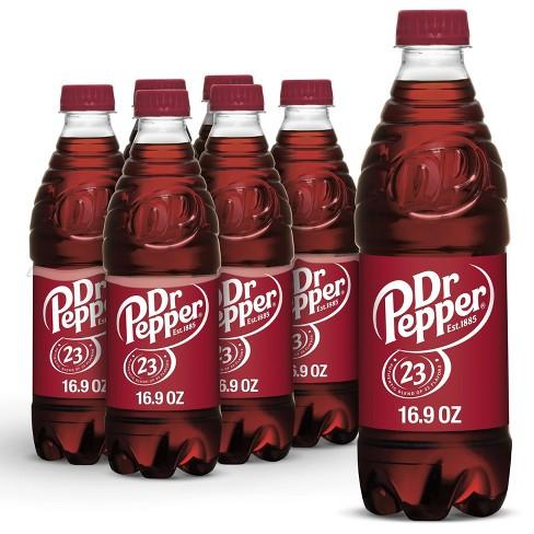 Dr Pepper Soda - 6pk/0.5 L Bottles - image 1 of 4