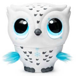 Owleez Interactive Pet - White