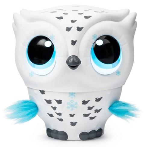 Owleez Interactive Pet - White - image 1 of 4