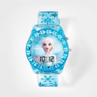 Girls' Disney Elsa Watch - Blue