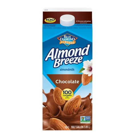 Blue Diamond Almond Breeze Chocolate Almond Milk - 0.5gal - image 1 of 1