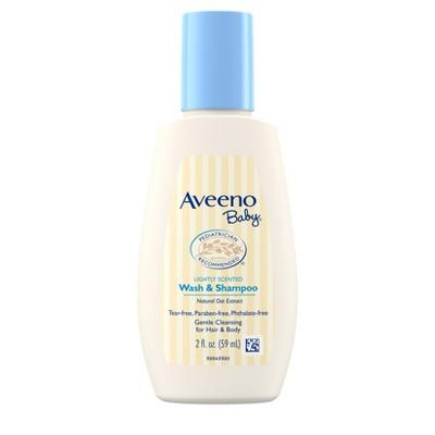 Aveeno Baby Light Scented Body Wash And Shampoo - 2 fl oz