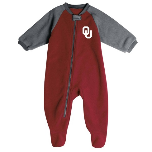 NCAA Oklahoma Sooners Infant Blanket Sleeper - image 1 of 2