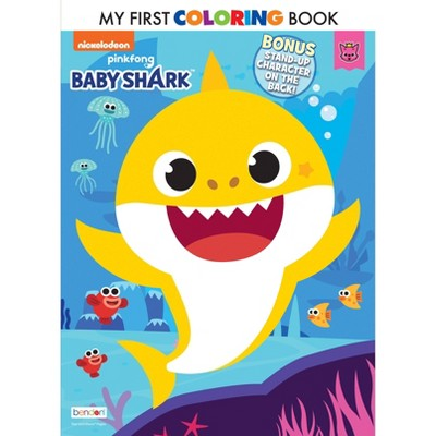 Baby Shark My 1st Coloring Book