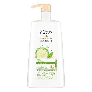 Dove Nourishing Rituals Cool Moisture Shampoo - 25.4 Fl Oz : Target