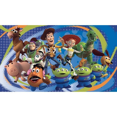6'x10.5' Toy Story 3 Chair Rail Prepasted Mural Ultra Strippable - RoomMates