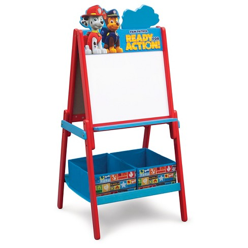 Delta ChildrenR Paw Patrol Wooden Double Side Red Target