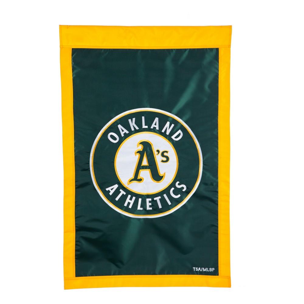 Oakland Athletics Applique House Flag
