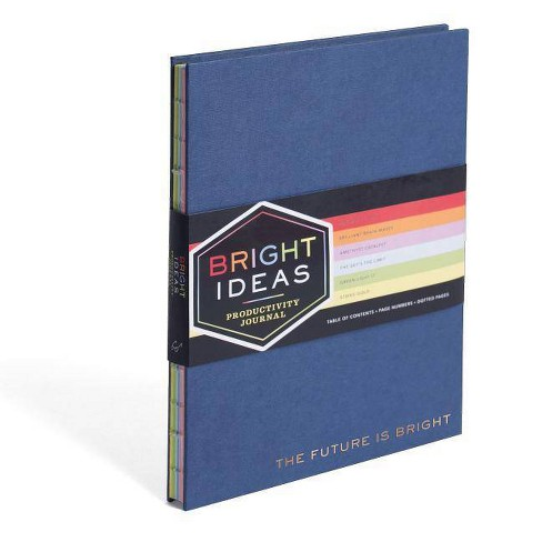Bright Ideas Productivity Journal (Paperback) - image 1 of 1