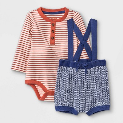 Baby Sweater Top & Bottom Set - Cat & Jack™ Brown