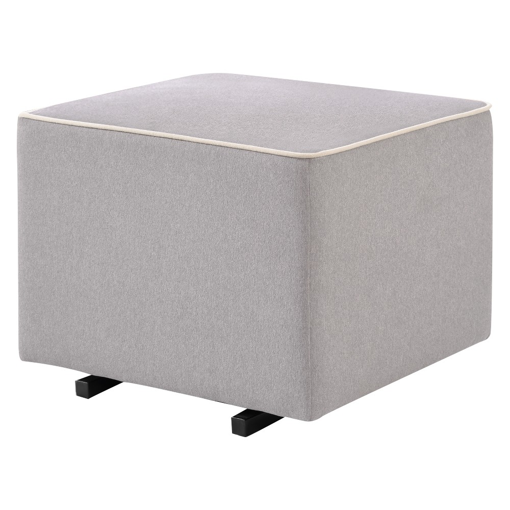 Image of DaVinci Kid's Glider And Ottoman Set - Gray & Cream, Gray/Ivory
