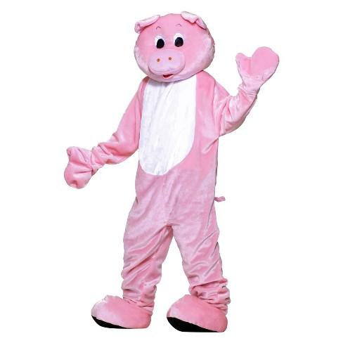 Men's Pig Plush Economy Mascot Adult Costume One Size - image 1 of 1