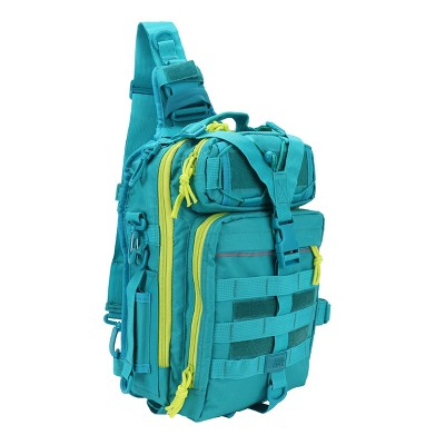 Osage River Deluxe Fishing Sling Bag, Backpack, Crossbody, Rod Holder, Tackle Box Storage